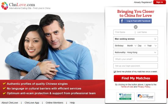 ChnLove - #1 Trusted International Dating Site